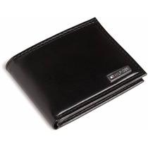 Billetera De Cuero Tommy Hilfiger Premium M8 Negra