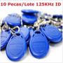 Chaveiro Aprox. Tag Rfid 125khz Acesso Eletronico Arduino -$