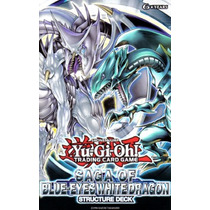 3 Structure Deck Saga Of Blue Eyes White Dragon Set De 3 Dec