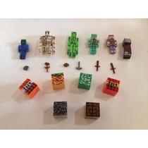 Bonecos Minecraft Kit Com 18 Peças Super Promoção Novo!!