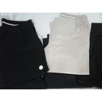 Pantalon Capri Embarazada En Tela Cloque