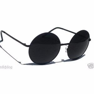 Óculos De Sol Estilo John Lennon Todo Preto - R  29,94 em Mercado Livre 3ef39131d9