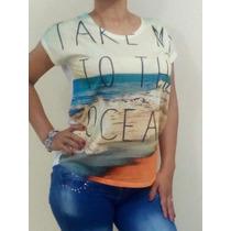 Blusas De Algodon Unicolor Modernas Elegantes