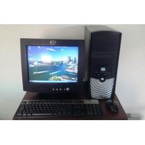Computador Intel, 1gb Ram, 120gb Dd, Monitor, Teclado, Mouse