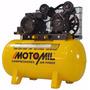 Compressor De Ar 10 Pés 100 Litros Monofásico Bifásico 220v