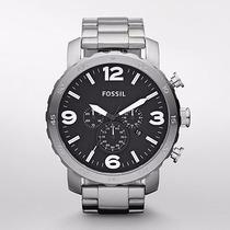 Reloj Fossil Hombre Nate Crono Nuevo Jr1353