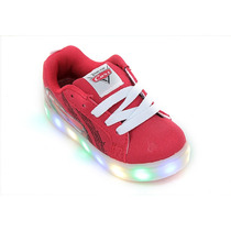 Zapatillas Addnice Cars 1000 Luces Rojas