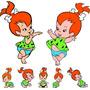 7 Display De Chão E Mesa Pedrita Flintstones
