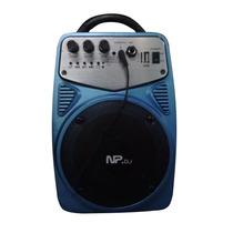 Corneta Amplificada Recargable Portatil Con Microfono Myp