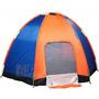 Camping 6 Persona Carpa Iglu Toldo Azul Campamento Colchones