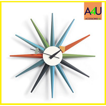 Reloj De Pared Sunburst By George Nelson - Replica Exacta