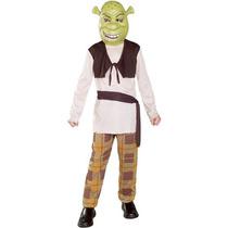 Nuevo Disfraz 7 A 8 Años Shrek Niño Entrega Inmediata