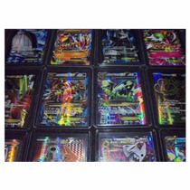 Lote Cartas Pokemon 55 Ex Full Art Holo Rares 20th