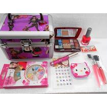 Kit 15 Art Cofre Maletin + Maquillaje + Deco Uñas Ydnis Nena