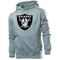 Blusa Moleton Oakland Raiders - Frete Grátis