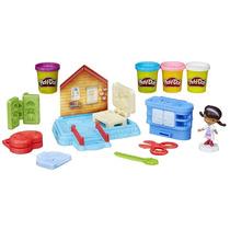Massa De Modelar Play-doh Clinica Doutora Brinquedos Disney