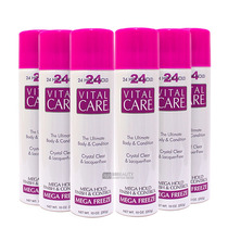 Vital Care Kit Atacado Promocao 6 Spray Fixador 24 Hours