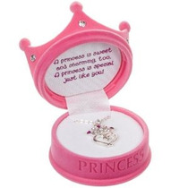 Pequeña Princesa Corona Collar En Figural Caja De Regalo Los