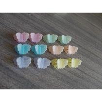 6 Pares Broches Aterciopilados + 5 Hebillas Color P/ Cabello