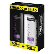 Kit Shampoo 400ml+condicionador Reconstrução 200ml Tresemmé