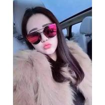 Óculos De Sol Feminino Espelhado Colecao Novo Prota Entrega