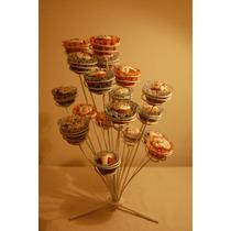 Porta Cupcakes En Hierro