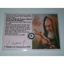 Reliquia Certificada Del Santo Padre Pío De Pietrelcina