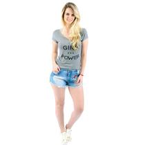 Short Jeans Patches Destroyed Coleção Verão 2016