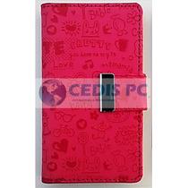 Funda Tipo Cartera (flip Cover) Sony Xperia L C2104 Mica Gra