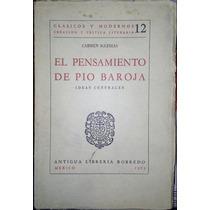El Pensamiento De Pio Baroja
