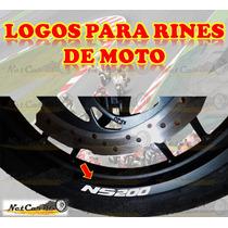 Stickers Calcas Logos Rin Motos Pulsar 200ns Fz Ktm Invicta