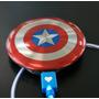 Cargador Portátil Escudo Capitán América 6800 Mah