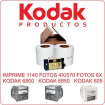 Kit Para Impresora Kodak 6800, 6850 Y 605. Imprime1140 Fotos