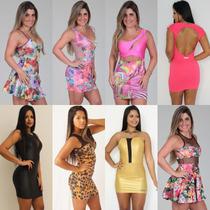 Kit 5 Vestidos Cirrê Suplex Juju Panicat Atacado Revenda
