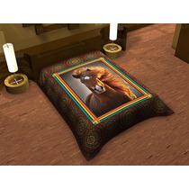 Cobertor Alaska Caballo Reflejo Matrimonial Pa