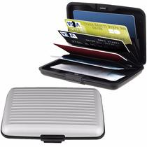 20 Carteras Card Wallet Aluminio Guard Alluma Tarjeta Segura
