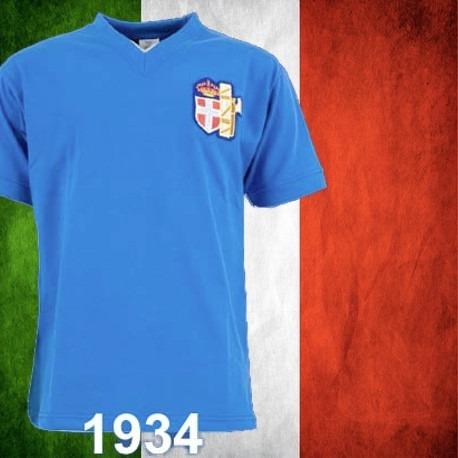 Camisa Retrô Italia 1934 - R  89 5ce90118af9ad