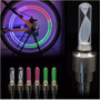 10 Pares Luz Led Multicolor Tapon Llanta Bici Moto Auto