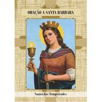 Santinho De Santa Barbara - Milheiro De Promessa E Oração