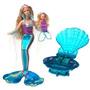 Juguete Sirena Mágica De Barbie