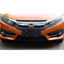 Friso Farol Auxiliar Cromado Honda Civic 2017 Ry0612341