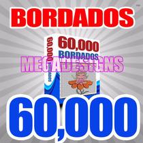 60,000 Bordados Ponchados Wilcom Super Paquete Miles Y Miles