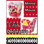 Caja Decorativa Cumpleaños Minnie Mouse - Temperley