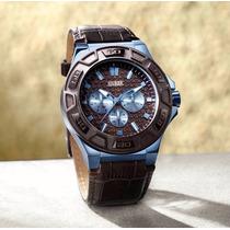 Reloj Guess Original Para Hombre. Codigo W0674g5