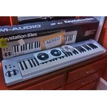 Controlador Midi M-audio Keystation 61es