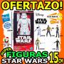 Wow Figuras Star Wars 15cm Hasbro Varios Personajes Disney