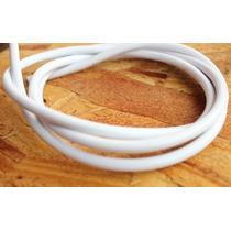 Cable Eléctrico Pvc Vintage Blanco