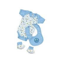 Pañalero Baby Set De 0 A 3 Meses-azul Ropa Bebe Baby Mink