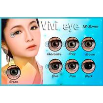 Pupilentes Circle Lens Vivi Eye 365 Dias De Uso!!