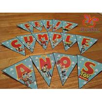Souvenirs - Banderín Feliz Cumpleaños - Toy Story - Y Más
